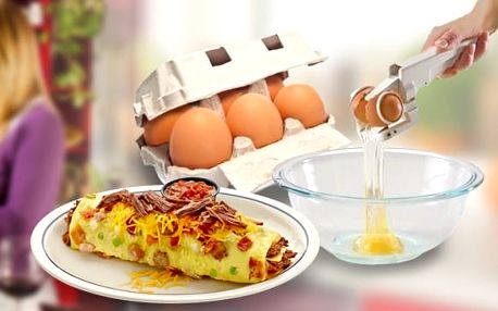 Rozbíječ vajíček EZCracker - praktický pomocník do kuchyně