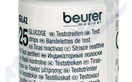 Test.proužky pro gluk.Beurer GL42 2x25ks