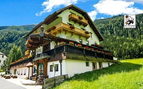 Letní Alpy s all inclusive a wellness