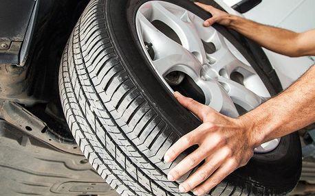 Přezutí pneu všech velikostí v Automyčce Mercury