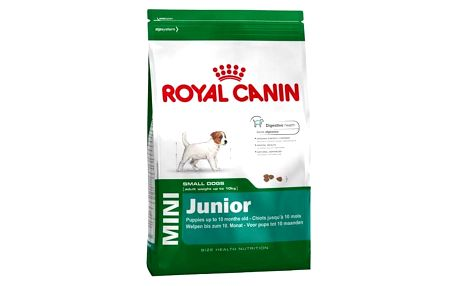 Granule Royal Canin Mini Junior 8 kg + Doprava zdarma