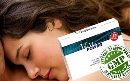 ViaMaximum Power - výživový doplněk PRO PÁNY!