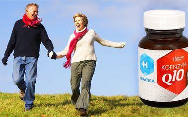 Koenzym Q10 pro posílení vitality, zdraví a síly