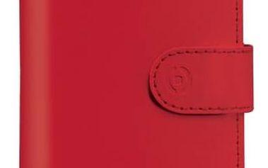 """Pouzdro na mobil flipové Celly Wally Unica, L, 4"""" - 4.5"""" (WALLYUNILRD) červené + Doprava zdarma"""