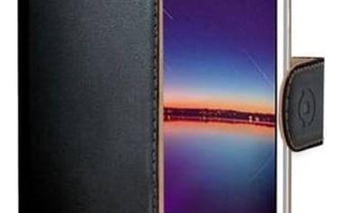 Pouzdro na mobil flipové Celly Wally pro Huawei Y3 II (WALLY583) černé + Doprava zdarma