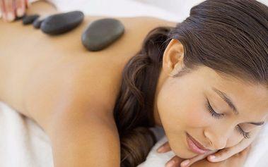 55minutová masáž lávovými kameny
