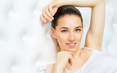 Luxusní ošetření pleti vč. liftingu obličeje a krku, masáž nohou + možnost reflexní masáže