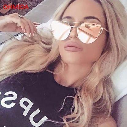 Originální dámské sluneční brýle ve více barvách