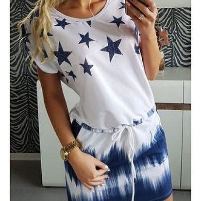 Dámské šaty s hvězdičkami Kimber