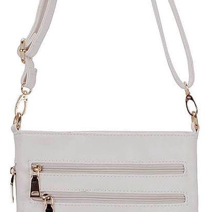 Dámská crossbody kabelka bílá - LS Fashion Cher bílá