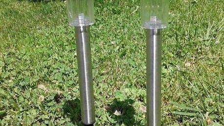 Jedinečný doplněk pro vaši zahradu: LED solární zahradní lampy 10 ks v kovovém provedení