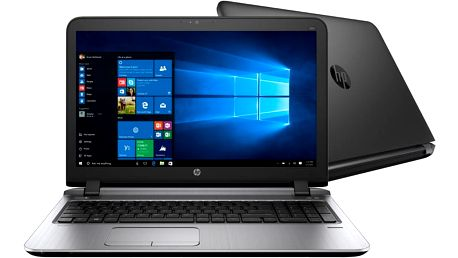 """HP ProBook 450 G3, černá - W4P12ES + NB Batoh HP Select 75 - 16"""" bílá v ceně 790 Kč"""