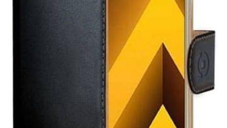 Pouzdro na mobil flipové Celly Wally pro Samsung Galaxy A5 (2017) (WALLY645) černé