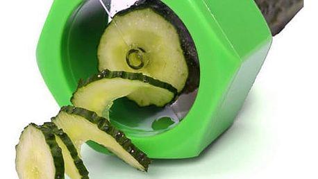 Spirálový kráječ salátových okurek