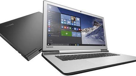 Lenovo IdeaPad 700-17ISK, černá - 80RV003UCK + Chladící podložka YENKEE YSN 120 v ceně 379 Kč + Microsoft Office 365 pro jednotlivce 1 rok v ceně 1599 Kč + Sleva Office