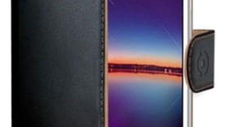 Pouzdro na mobil flipové Celly pro Huawei Y3 II (WALLY583) černé