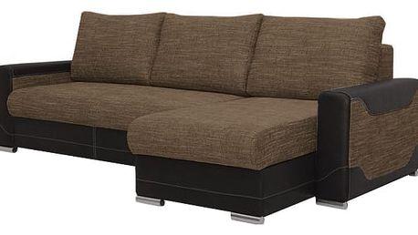 Rohová sedačka Vegas univerzální (magma 02/madryt 1100, šedá)