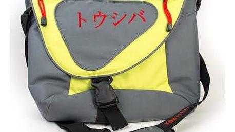 """TOSHIBA brašna na notebook do 15,6"""" limetka"""