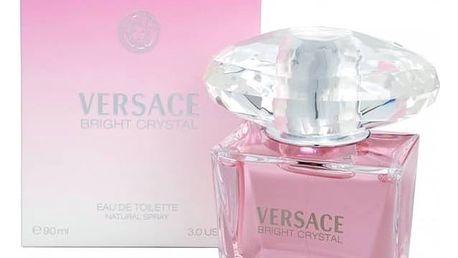 Toaletní voda Versace Bright Crystal 90 ml