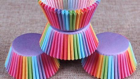 Košíčky na muffiny a cupcakes - 5 variant - 100 kusů