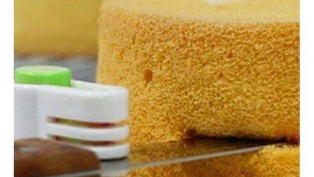 Pomůcka na vodorovné krájení dortu