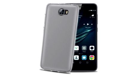 Kryt na mobil Celly pro Huawei Y6 II Compact (GELSKIN608) průhledný