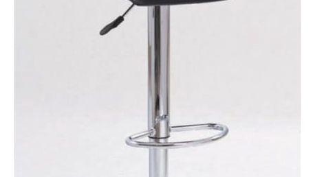 Barová židle H-1 černá