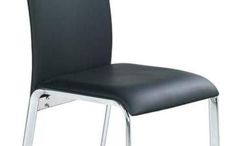 Kovová židle K135 černá