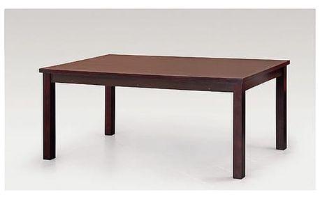 Jídelní stůl Samba 90x160 cm tmavý ořech