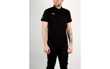 Tričko Puma Indomitable Leisure Polo black L Černá