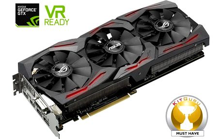 ASUS GeForce ROG STRIX GAMING GTX1080 DirectCU III, 8GB GDDR5X - 90YV09M1-M0NM00