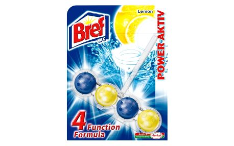 HENKEL ČR, spol. s r.o. BREF WC POWER AKTIV Lemon 50g