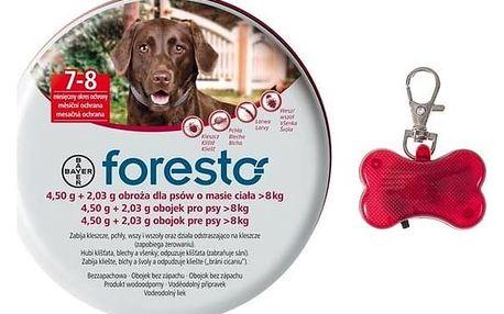 Bayer Foresto 70cm (1ks), pro psy