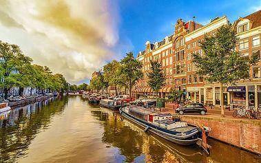 Víkendový zájezd do Keukenhofu, Amsterdamu a k větrným mlýnům pro JEDNOHO