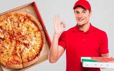 2 čerstvé pizzy dle výběru až do vašeho obýváku