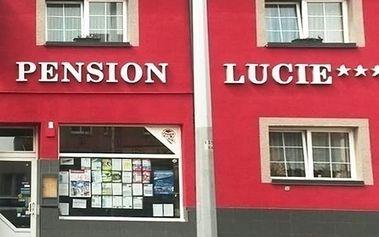 Pobyt se snídaní a možností wellness pro dva v pensionu Lucie se skvělou dostupností do centra.