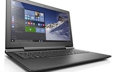 Notebook Lenovo 700-15ISK (80RU008TCK) černý