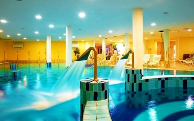 3 až 6denní wellness pobyt s polopenzí pro 2 v hotelu CE Plaza**** u Balatonu