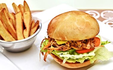 Burger menu dle výběru pro 1 nebo 2 hladovce
