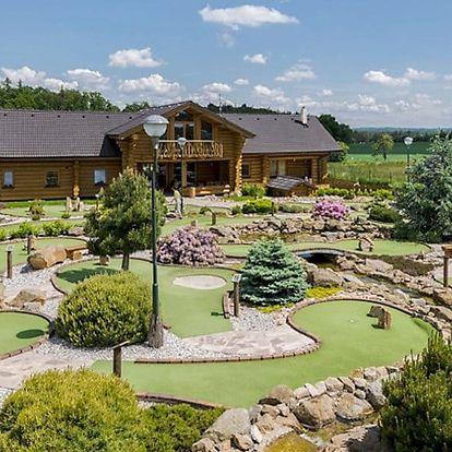 Zábava na adventure golfu v Horním Bezděkově