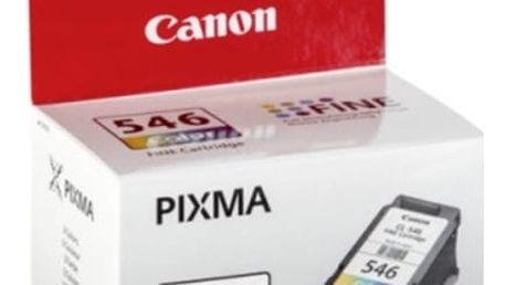 Inkoustová náplň Canon CL-546 - originální (8289B001) červená/modrá/zlatá originální