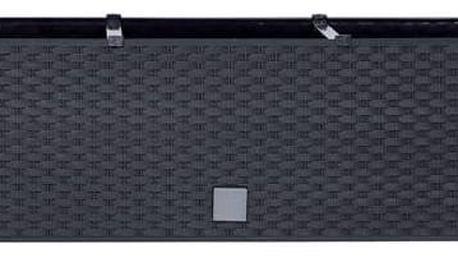 Truhlík samozavlažovací Prosperplast Rato case 80 x 33 x 32 cm antracit + Doprava zdarma