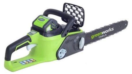 Pila řetězová Greenworks GD40CS40, akumulátorová