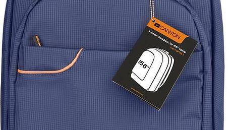 """Canyon CNE-CBP5BL3, elegantní batoh na notebook do velikosti 16"""", modrý"""