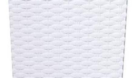 Květináč Prosperplast Rato square 40 x 40 x 75 cm bílý + Doprava zdarma