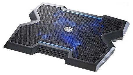 Chladící podložka pro notebooky Cooler Master NotePal NotePal X3 pro NTB 12-17'', 20cm fan (R9-NBC-NPX3-GP) černá
