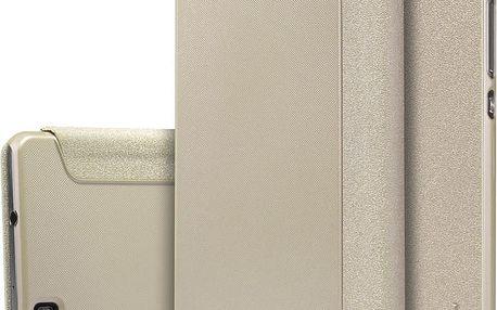 Nillkin Sparkle Folio pouzdro Gold pro Huawei Ascend P8 Lite - 25632