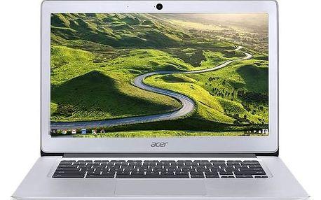 Notebook Acer Chromebook 14 (CB3-431-C51Q) (NX.GC2EC.002) stříbrný Monitorovací software Pinya Guard - licence na 6 měsíců (zdarma)Software F-Secure SAFE 6 měsíců pro 3 zařízení (zdarma) + Doprava zdarma