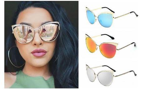 Stylové sluneční brýle Cat Eye