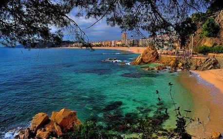 Španělsko/Malgrat de Mar, 10denní zájezd pro 1 os.: 7 nocí, polopenze, výlet do Barcelony